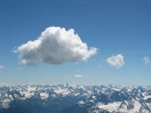 Les orages et la foudre en montagne