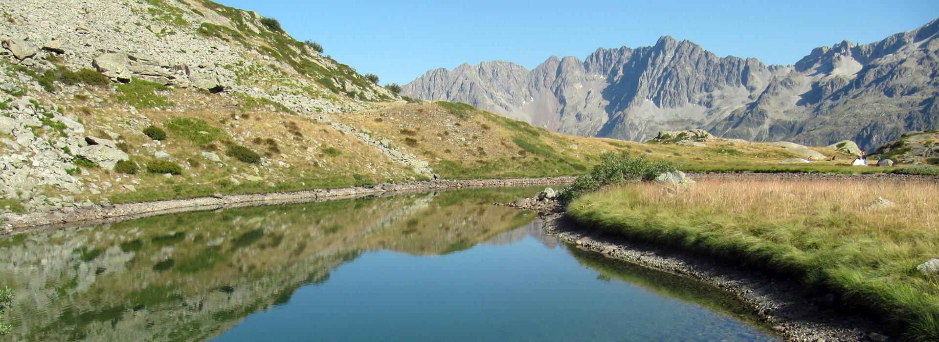 """Col et Lacs de Pétarel - Depuis le hameau """"Les Andrieux"""" - 2450 M"""