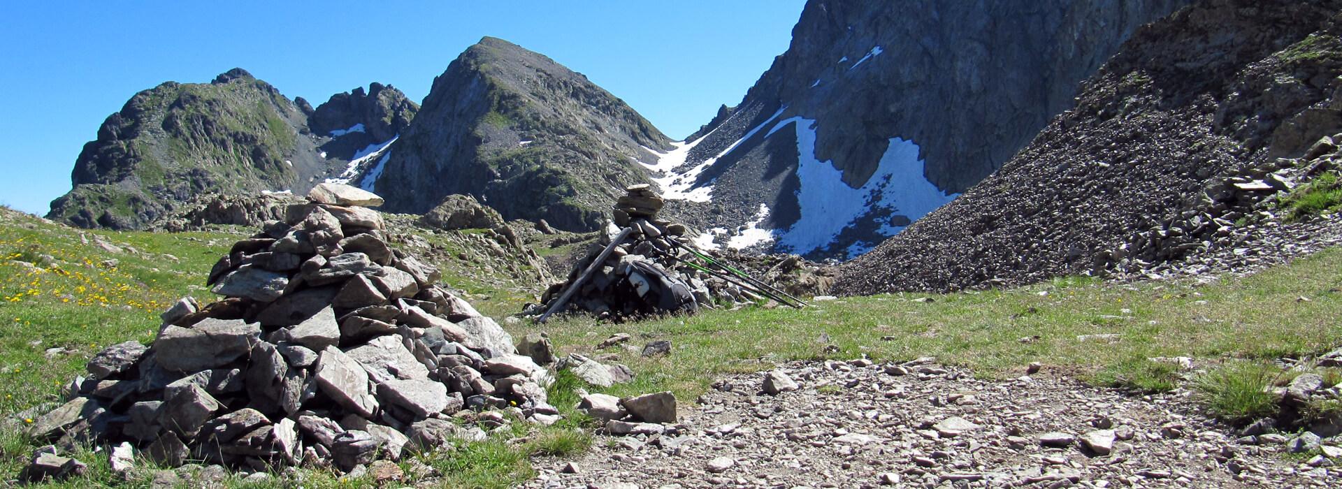 Col de la Mine de Fer - Depuis la Betta - 2400 M