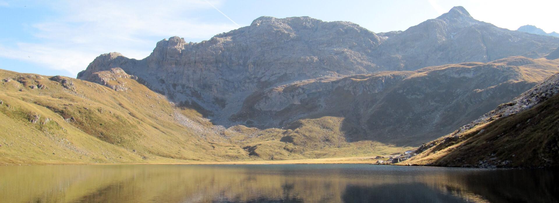 Lac de la Plagne - Depuis le Refuge de Rosuel - 2144 M