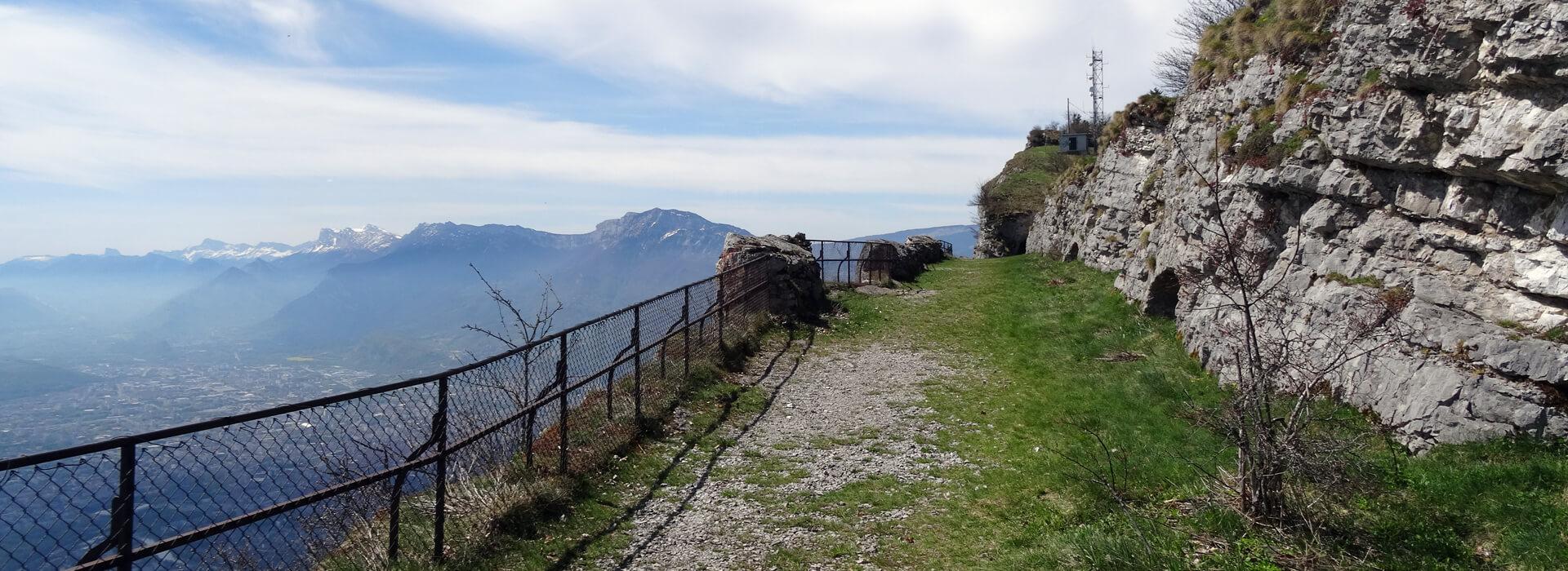 Le Mont St Eynard - Depuis le Col de Vence - 1359 M