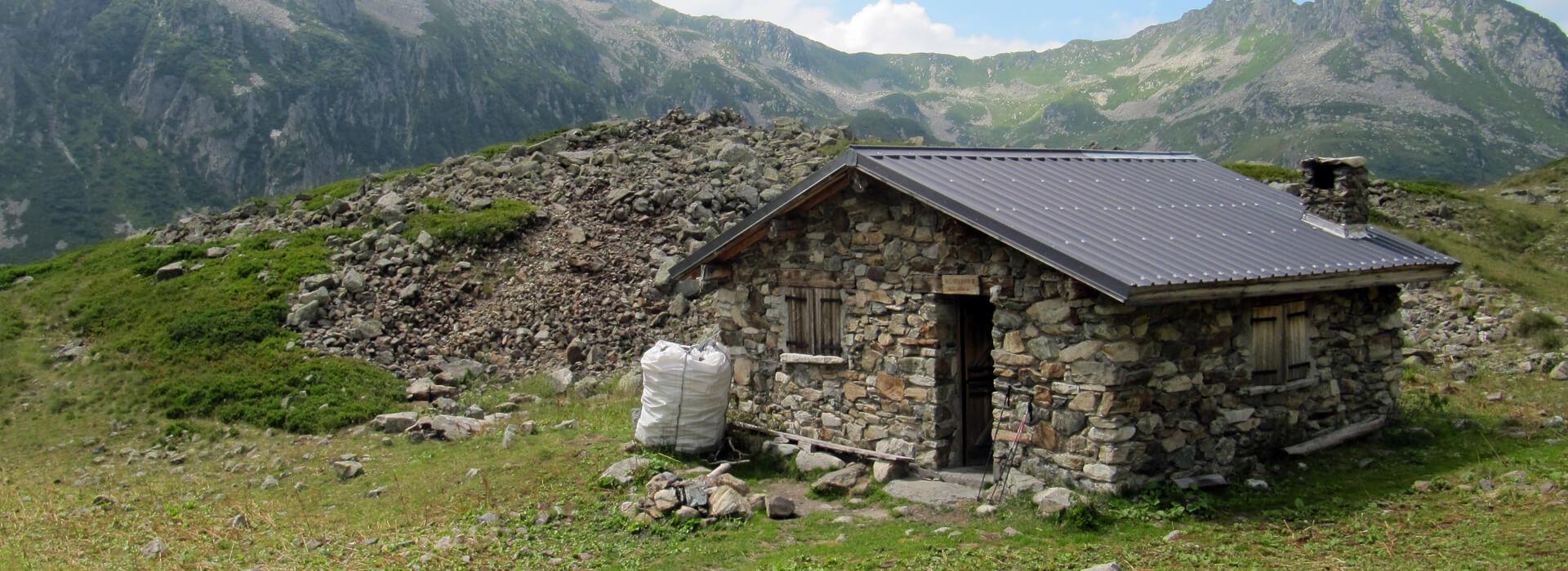 Pic Sud du Merlet - Depuis la Moletta, en boucle par le Col de la Colombière - 2495 M