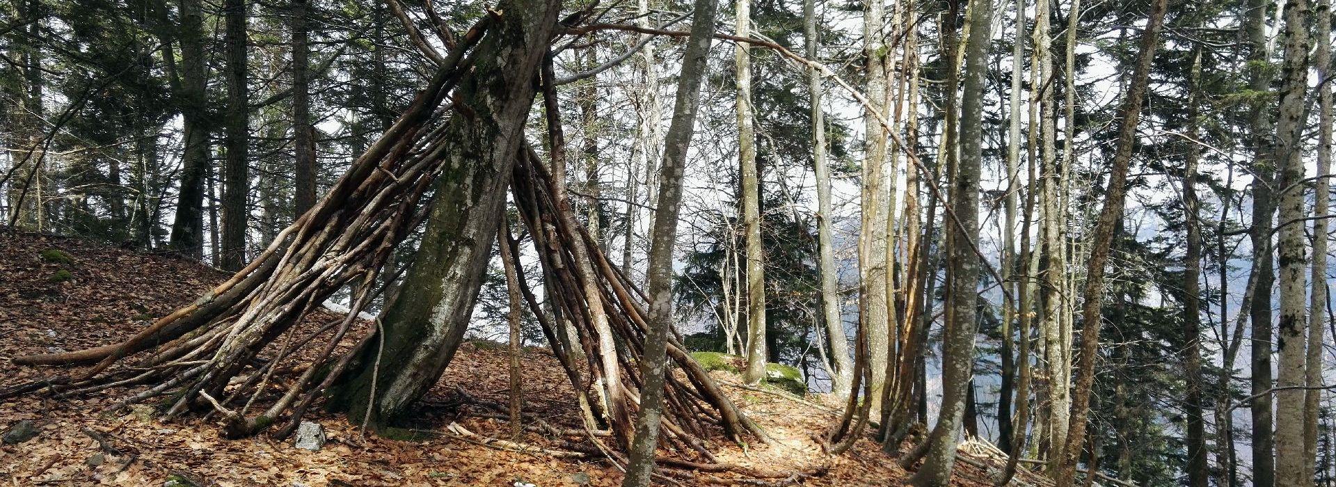 Pointe du Frou depuis la Ruchère