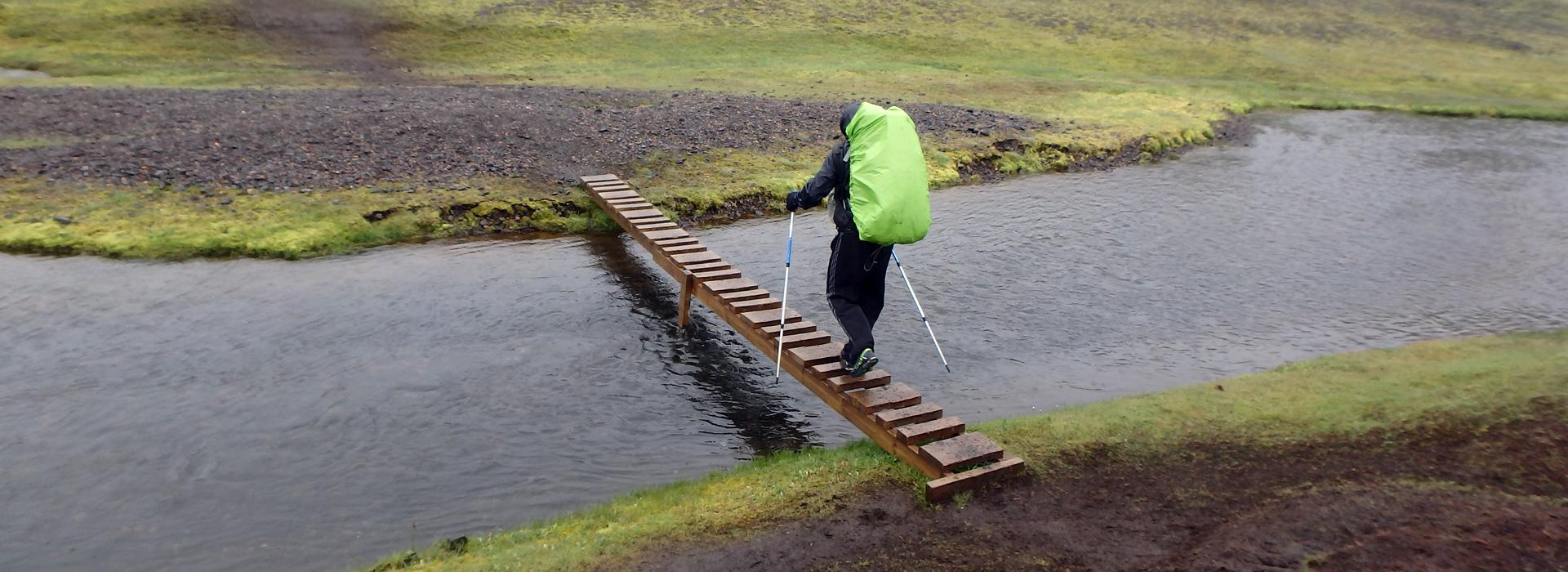 6 raisons d'utiliser des bâtons de randonnée