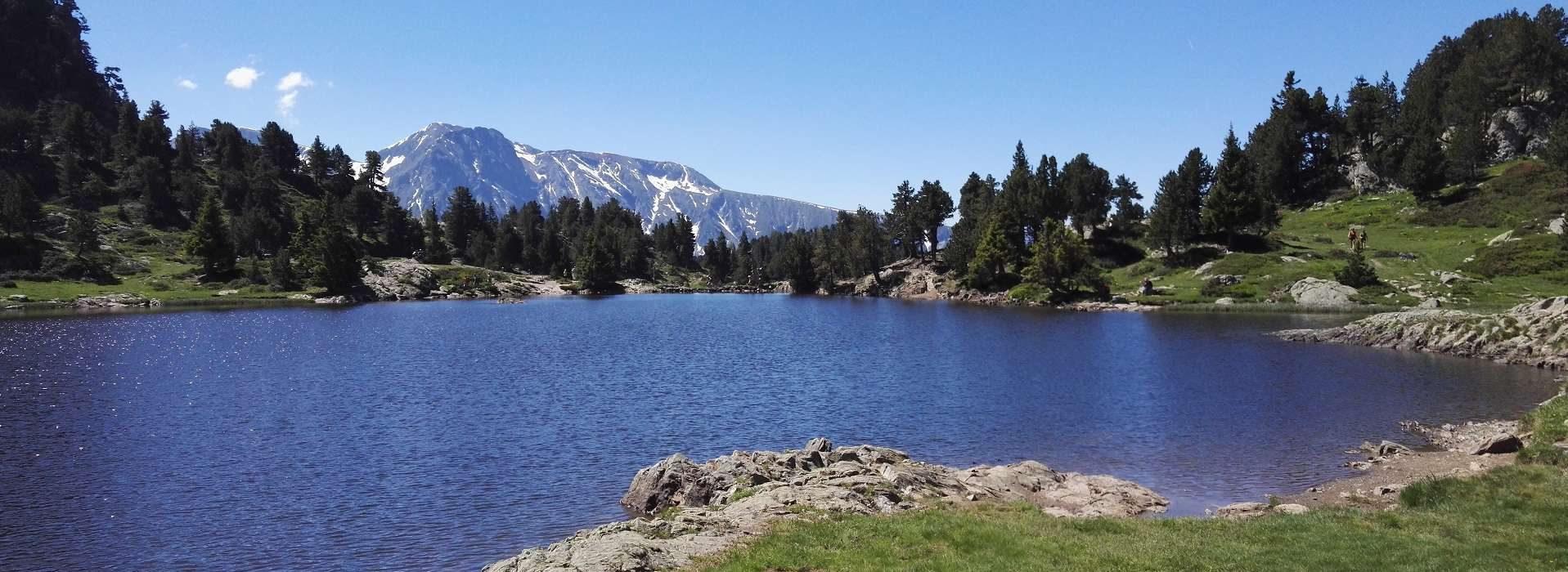 Lac Achard depuis Roche Béranger