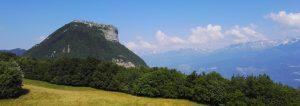Mont Rachais depuis le col de Vence