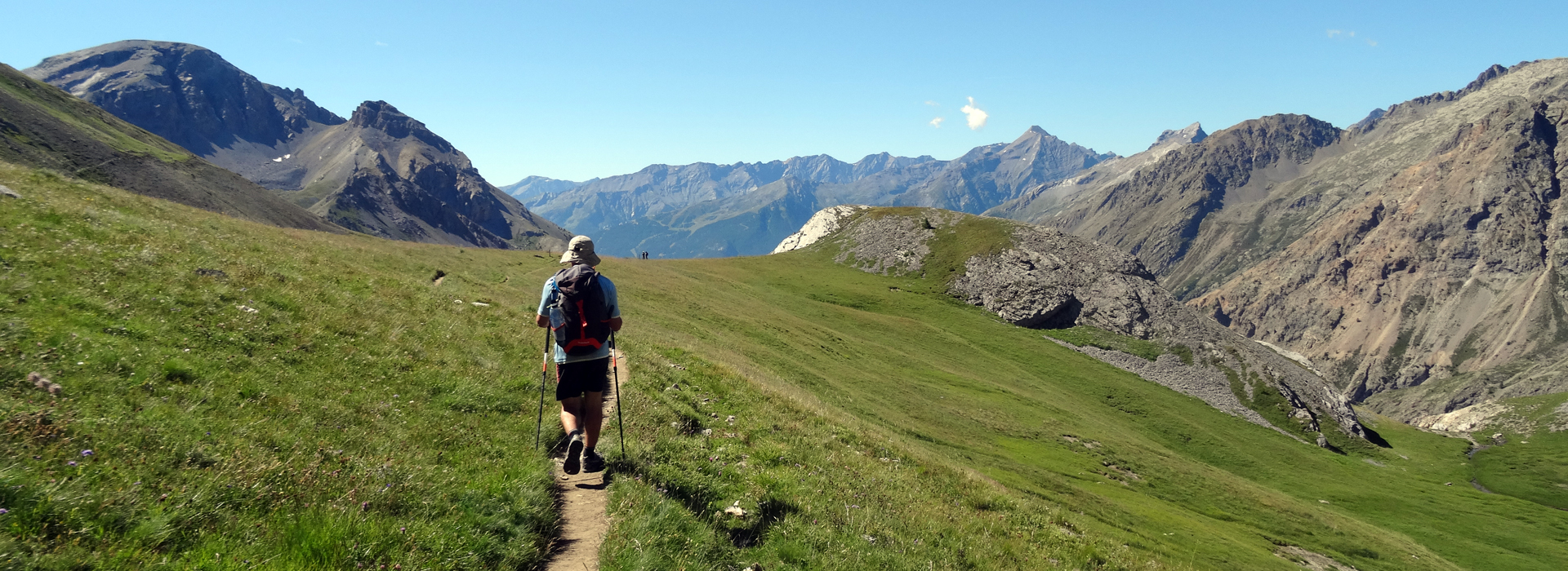 Tour des Ecrins - GR54 - Etape 4 - Monétiers-les-Bains - Vallouise