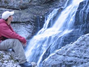 Cirque de St Même - Le sentier des cascades - 1100 M