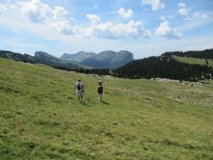 La Croix de l'Alpe - Depuis les Varvats, par le Vallon de Pratcel - 1821 M