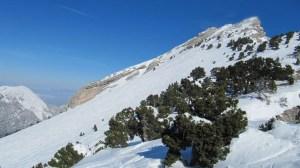 Chamechaude en raquettes - Depuis le Col de Porte - 2082 M