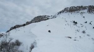 Les Bannettes en raquettes - Depuis Mont Saint Martin - 1712 M