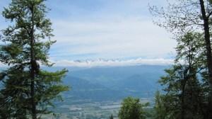 La Croix de l'Alpe - Depuis le hameau Les Prés, par le Col de l'Alpe - 1821 M
