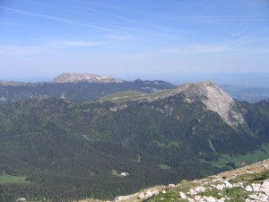 Chamechaude - Depuis le Col de Porte - 2082 M