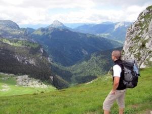 Les Lances de Malissard - Depuis le Col de Marcieu par l'Aup du Seuil - 2045 M