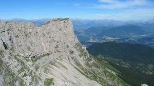 La Grande et la Petite Moucherolle - Par le Col des 2 soeurs, retour par le Pas de la Balme - 2285 M