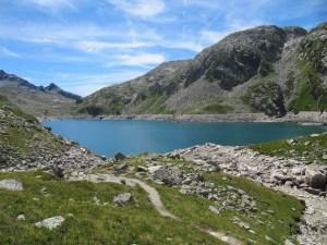 Lacs et refuge des Sept Laux - Depuis le Pleynet - 2135 M