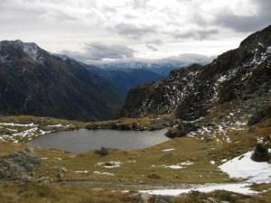 Lac et Pas de la Coche - Depuis Prapoutel, par le GRP Le Balcon des 7 Laux - 1989 M