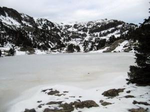 Le Lac Achard en raquettes - Depuis le Plateau de l'Arselle - 1917 M