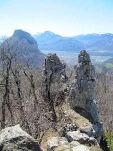 L'Aiguille de Quaix - Depuis la Jars, en boucle - 1143 M