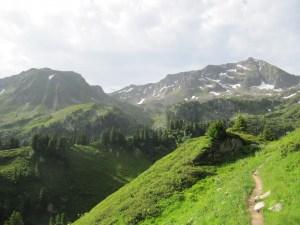 Tour du Beaufortain - Etape 4 - Du Lac Tournant au refuge d'étape La Raie