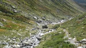 La Pointe Rousse - Depuis la Savonne, par le Passage de la Louie Blanche - 2806 M