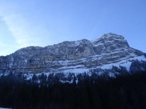 Le Pinet en raquettes - Depuis la Plagne, par le Col de l'Alpette - 1867 M