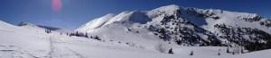 Les Alpages de la Sure en raquettes - Currière, Col des Charmettes, de la Grande Vache, des Charmilles - 1712 M