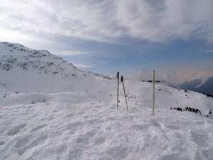 La Croix du Léat en raquettes - Depuis Gleyzin, par le Chalet du Bout - 1825 M