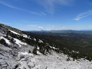 Rochers de la Balme - Tête des Chaudières - Par la Combe de Fer et le Pas de la Balme - 2063 M