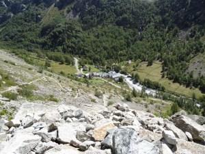 """Refuge du Soreiller - Aiguille Dibona - Depuis le hameau """"Les Etages"""" - 2719 M"""