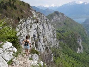 Mont Veyrier, Mont Baron - Traversée des crêtes, en boucle depuis Annecy - 1299 M