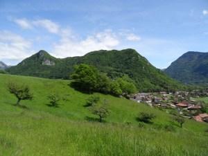Le Roc de Viuz - En boucle depuis Viuz - 853 M