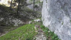 Prairies de Corde et d'Arpison - Par la Cheminée de Corde et le Sentier du Solitaire - 1455 M