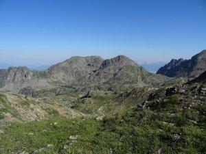 La Grande Lauzière et la Tête Noire - En boucle depuis Pré Raymond - 2741 M