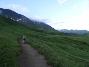 Grande Traversée des Alpes - Etape 9 - Petite Berge - Valezan