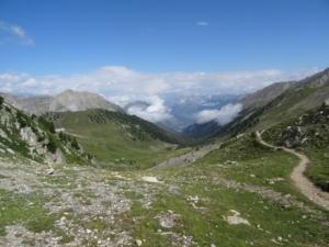 Grande Traversée des Alpes - Etape 16 - Les Ayes - Château Queyras