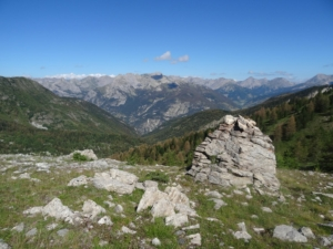 Grande Traversée des Alpes - Etape 17 - Château Queyras - Lac St Anne