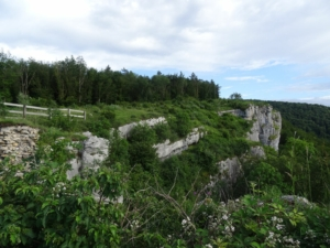Grande Traversée du Jura - GTJ - Étape 1 - Mandeure - Pont-de-Roide