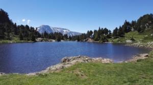 Lac Achard - Depuis Roche Béranger - 1971 M