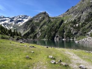 Le Lac Lauvitel - Depuis la Danchère, en boucle - 1549 M